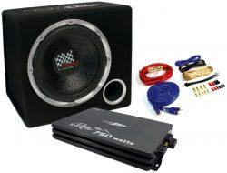 Caliber PACK12P4 Soundpaket mit 4-Kanal Endstufe/Verstärker + 30cm Subwoofer 750 Watt für 108,90 € (148,95 € Idealo) iBOOD