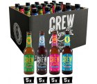 Crew Republic Craft Beer-Aktion @Top12 z.B. CREW Republic Awesome IPA Mix, 20 x 0,33 L für 30,12 € (43,90 € Idealo)