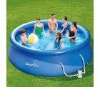Ebay: Summer Waves Fast Set Pool 366 x 91 cm mit Kartuschenfilter für nur 79,95 Euro statt 99,95 Euro