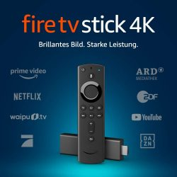 Fire TV Stick 4K Ultra HD mit Alexa-Sprachfernbedienung für 29,99 € (54,80 € Idealo) @Amazon Prime