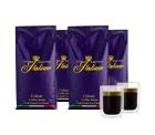 Kaffeevorteil: Grand Maestro Italiano Celeste Kaffeebohnen (4 kg) + 2 doppelwandige Kaffeegläser mit Gutschein für nur 29,99 Euro statt 68,71 Euro