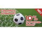 @Netto: 10% Gutschein auf Alles aus dem Fussballshop, aber nur bis zum HSV Anpfiff!!!