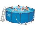 Real: Bestway Frame Pool Steel Pro Set rund 366 x 122 cm für nur 249 Euro statt Euro bei Idealo
