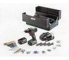 Real: Bosch Akku-Bohrschrauber PSR 14,4 V LI-2 inkl. 2 x 2,5 Ah Akkus + Ladegerät + 241-teiliges Zubehörset für 87 Euro statt 169 Euro bei Idealo