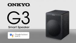 Saturn: ONKYO G3 Sprachgesteuerter Multi-Room Lautsprecher in schwarz oder in weiß für nur 55 Euro statt 111,88 Euro bei Idealo