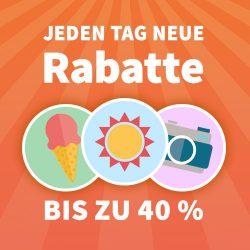 Sommer-Countdown – Täglich neue Rabatte / Heute 5 Rubbellose gratis für Neu & Bestandskunden @Lottohelden