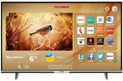 Telefunken XU55D401 140 cm (55 Zoll) 4K Ultra HD Triple Tuner Smart TV für 399,99 € (559,00 € Idealo) @Amazon