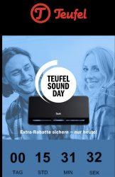 @teufel: Heute Sound Day  mit vielen Angeboten