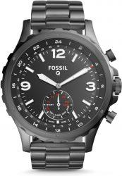 Fossil: Fossil Q Nate Hybrid Smartwatch in Edelstahl grau für nur 82,88 Euro statt 159,90 Euro bei Idealo