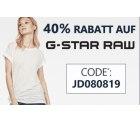 @jeansdirect: 40% Rabatt auf G-Star mit Gutschein