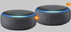 2x Echo Dot (3. Gen.) Intelligenter Lautsprecher mit Alexa für 39,99 € (62,66 € Idealo) @Aamzon