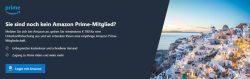 Amazon Prime Jahresmitgliedschaft geschenkt bei Buchung einer Reise über Booking.com