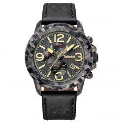 Amazon: Timberland Herren Chronograph TBL15474JSGY61 mit Leder Armband für nur 79,99 Euro statt 130,20 Euro bei Idealo