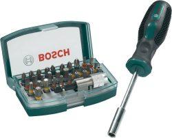 Bosch 32-teiliges Bit-Set mit Schraubendreher für 11 € (16,41 € Idealo) @Voelkner