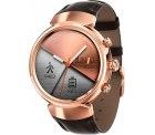 Mediamarkt und Ebay: ASUS ZenWatch 3 Smartwatch Edelstahl Roségold mit Lederarmband für nur 119 Euro statt 211,99 Euro bei Idealo