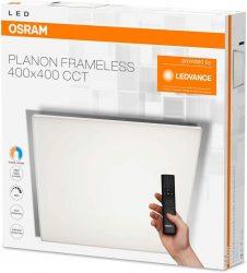Osram Planon Frameless 40cm x 40cm LED Wandpaneel mit Fernbedienung für 85,90 € (187,91 € Idealo) @iBOOD