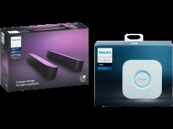 Philips Hue Play Lightbar Doppelpack + Philips Hue Bridge für 99 € (149,88 € Idealo) @Saturn