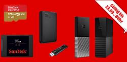 Speicherwoche + täglich neue Deals @Media-Markt z.B. SANDISK Ultra 3D 512GB SSD Festplatte für 55 € (71,98 € Idealo)