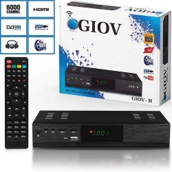 Amazon: Giov H Digital Sat Receiver (HDTV – DVB-S/S2, HDMI, SCART, 2X USB 2.0, Full HD 1080p) für nur 19,90 Euro statt 40,71 Euro bei Idealo