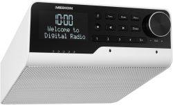 Amazon: MEDION P66120 WLAN Unterbauradio mit Amazon Alexa, DAB+ und Bluetooth für nur 49,99 Euro statt 92,90 Euro bei Idealo