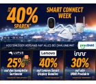Bis zu 40% Rabatt in der Smart Connect Week @Notebooksbilliger z.B. Nedis WLAN Smart IP-Kamera für 38,97 € (64,53 € Idealo)