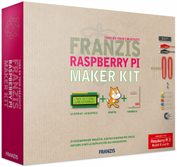 Franzis Raspberry Pi Maker Kit für 20 € (47 € Idealo) @Franzis