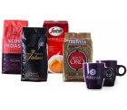 Kaffeevorteil: Probierpaket mit 4 kg Premiummarken Kaffeebohnen + 2 Original Altezza Kaffeetassen mit Gutschein für nur 49,99 Euro statt 89,99 Euro