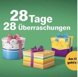 McDonalds: Weihnachts countdown 17.10.-12.11.19 täglich NEU