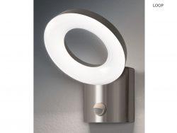 Osram ENDURA STYLE Wall Loop LED Edelstahl Außenleuchte mit Sensor für 35,90 € (50,90 € Idealo) @iBOOD