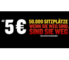 Ryanair Flash Sale: 50.000 Sitzplätze ab 5 Euro quer durch Europa fliegen
