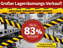 Voelkner: Bis zu 83% Rabatt im Lagerräumungsverkauf + gratis Versand mit Gutschein ab 30 Euro MBW