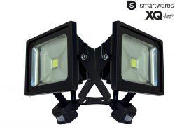 2 Stück Smartwares XQ-Lite 30 Watt LED-Fluter mit Bewegungsmelder für 30,90 € (85,80 € Idealo) @iBOOD