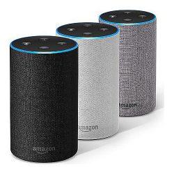 Amazon Echo Intelligenter Lautsprecher mit Alexa (2. Gen.) für 49,99 € (78,88 € Idealo) @Notebooksbilliger, Gravis, Amazon…