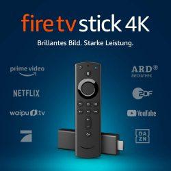 Amazon: Fire TV Stick 4K Ultra HD mit Alexa-Sprachfernbedienung für nur 29,99 Euro statt 49,99 Euro bei Idealo [Text lesen!]