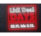 Lidl Deal Days (Black Friday) mit verschiedenen Angeboten + versandkostenfrei mit Gutschein