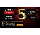 CineStar 5-Sterne-Ticket im Cyber Week Angebot für nur 27,50 Euro statt 35 Euro