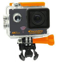 Discovery Adventures 4K-Action-Cam Pro mit WLAN für 40,90 € (74,62 € Idealo) @iBOOD
