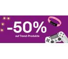 Ebay: 50% Rabatt mit Gutschein ohne MBW auf ausgewählte Artikel