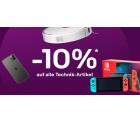 Ebay: Nur heute zum Black Friday 10% Rabatt auf Technik mit Gutschein ohne MBW