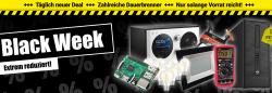 Pollin: Black Week – Top-Deals mit Hammer-Rabatten + jeden Tag neue Black Deals