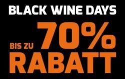 Weinvorteil – Black Wine Days bis zu 70% Rabatt mit Gutscheincode
