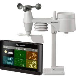 Amazon: Bresser 5-in-1 Funk Wetterstation mit Außensensor Wetter Center für nur 65,99 Euro statt 114,95 Euro bei Idealo