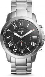 Amazon: Fossil FTW1158  Hybrid Smartwatch Q Grant mit Edelstahl Armband für nur 86,99 Euro statt 139,90 Euro bei Idealo