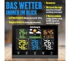Amazon: Sainlogic Funk Wetterstation mit 3 Außensensoren für nur 47,99 Euro statt 69,99 Euro bei Idealo