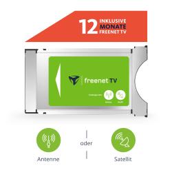 Ebay: freenet TV CI+ TV Modul DVB-T2 HD und DVB-S Sat mit 12 Monate gratis Guthaben mit Gutschein für nur 53,59 Euro statt 66,99 Euro bei Idealo