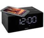Medion: MEDION P66970 WLAN-Weckstation mit Amazon Alexa Fernfeld-Spracherkennung, Bluetooth, Qi-Ladefunktion für 49,95 Euro statt 59,95 Euro bei Idealo
