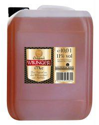 Original Wikinger Met Honigwein Kanister (1 x 10 l) – Der Honigwein/Honigmet aus Haithabu für 37,99 € (50,07 € Idealo) @Amazon