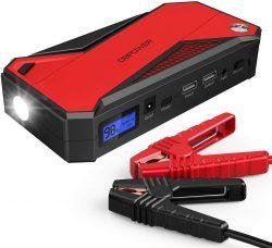 Amazon: DBPOWER 18000mAh Starthilfe Batterie Booster mit Gutschein für nur 49,99 Euro statt 98,30 Euro bei Idealo