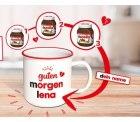 Gratis nutella-Tasse beim Kauf von zwei oder drei 750g oder 450g nutella-Gläsern