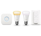 Philips Hue White Ambiance E27 Bluetooth ZigBee Leuchtmittel + Bridge + Dimmschalter für 79,99 € (109,90 € Idealo) @eBay